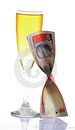 Wine and money