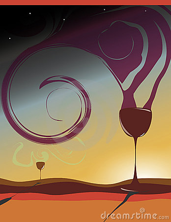 Wine Poster And Flyer Design