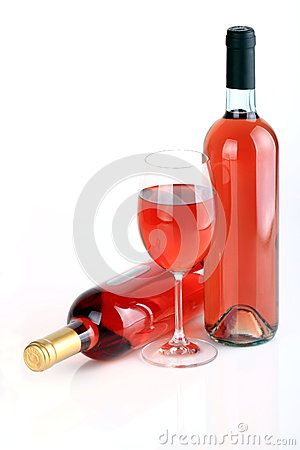 Free Wine S Bottles With Wine Glass Royalty Free Stock Photography - 40872507