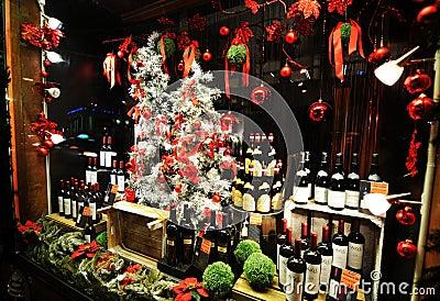 Wine shop Editorial Photo