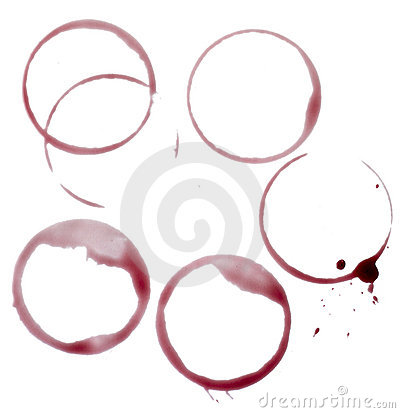 Free Wine Stains Group Food Beverage Drink Alcohol Stock Photography - 14295882