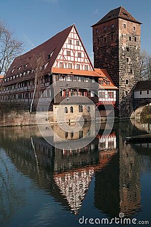 Wine Store (Weinstadel), Nuremberg, Germany