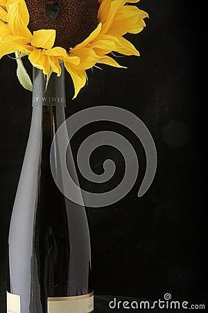 Wine with Sunflower