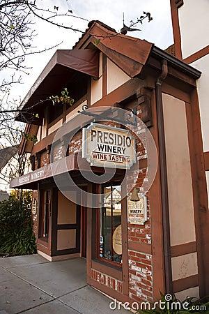Wine Tasting, Solvang, California Editorial Photo