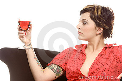 Wine and tattoos