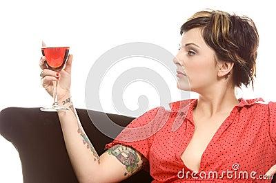 Wine and tattoos