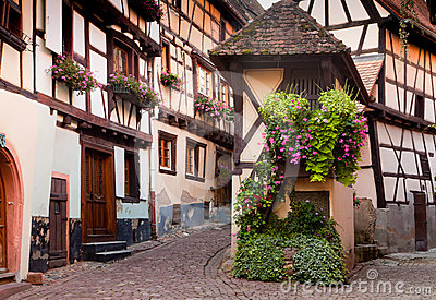 Wine village of Eguisheim