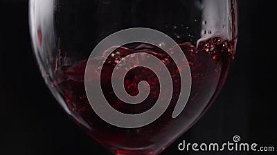 wineglass χυμός Κρασί Χύστε το ποτό στο ποτήρι ψεκασμός απελευθέρωση Κύμα φιλμ μικρού μήκους