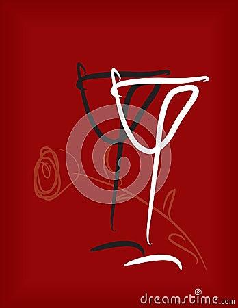 Free Wineglass Stock Photo - 15932760