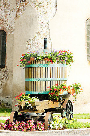 Winepress, Alsace