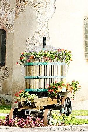 Winepress, Alsace
