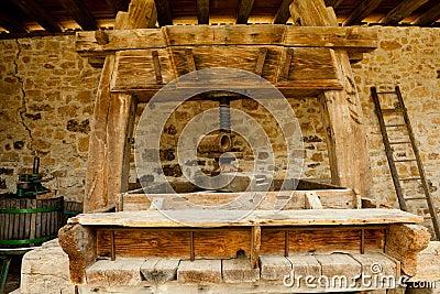 Winepress in Alsace