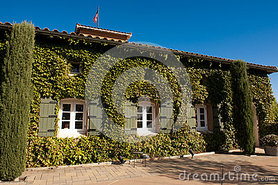Winery in Nappa Valley, California