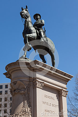 Στρατηγός Winfield Scott Hancock στο Washington DC