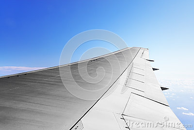 Wing Aircraft Royalty Free Stock Images - Image: 24814149