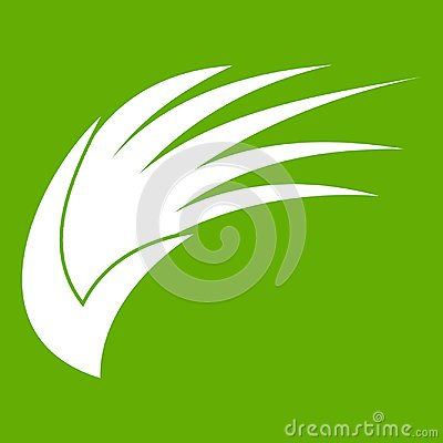 Free Wing Icon Green Stock Photography - 102089682
