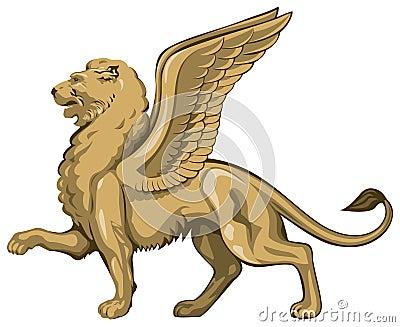 Winged Lion