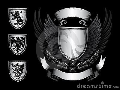 Winged Shield Insignia