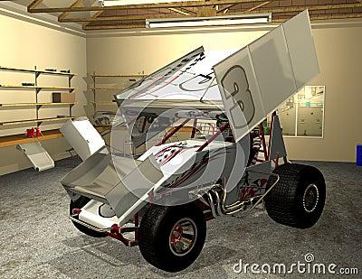Art Of Wing Sprint Car