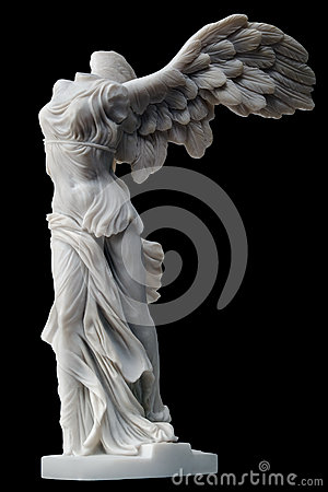 Free Winged Victory Royalty Free Stock Image - 37159186