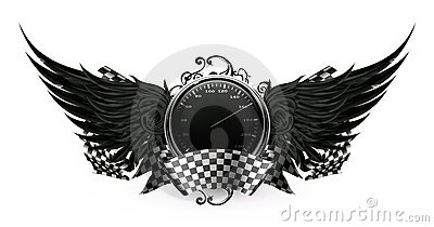 Wings Black, Racing emblem