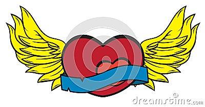 Wings of Love Possessive Lover Illustration