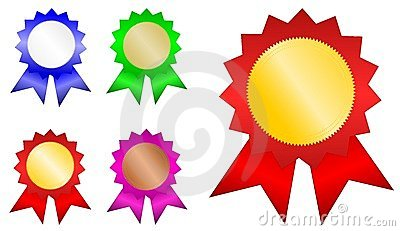 Winner Badges Stock Photo - Image: 22991520
