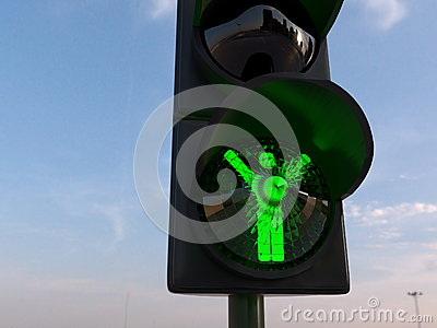 Winner concept with traffic lights