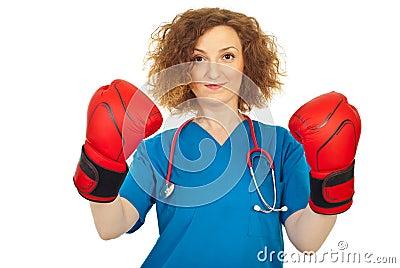 Winner doctor woman