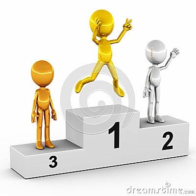 Winner first second third