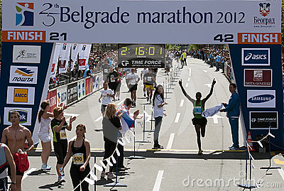 The winner of the marathon Editorial Photography