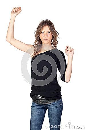 Winner model girl