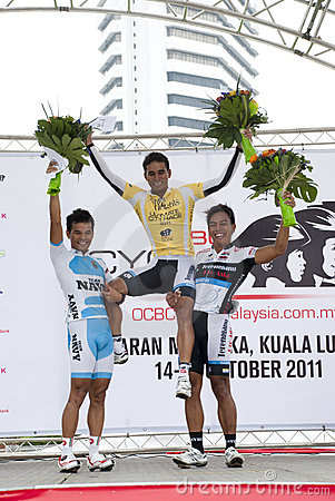 The Winner of OCBC Cycle Malaysia 2011 Editorial Photography