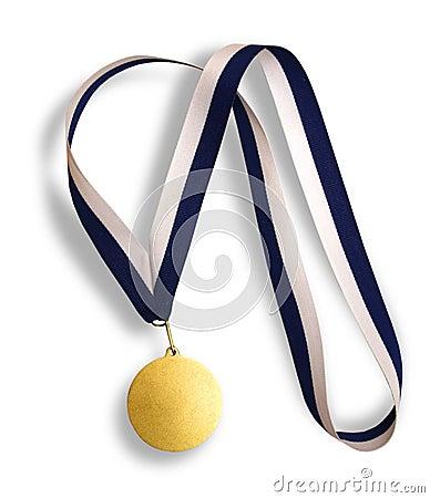 Winner s gold medal