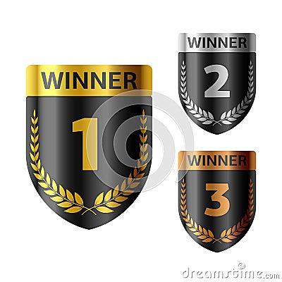 Winners shield