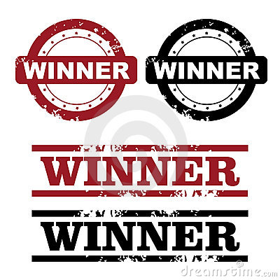 Free Winner Stamps Royalty Free Stock Image - 17635806