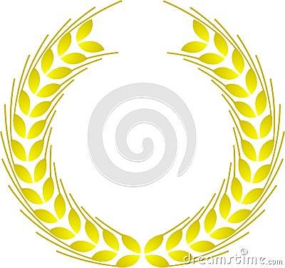 Winner wreath