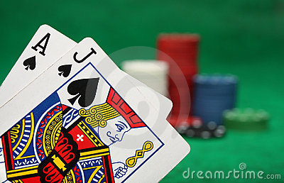A winning blackjack hand