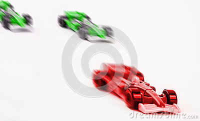 Winning car