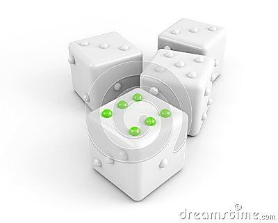 Winning dice