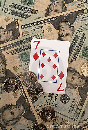Winning Gamble on Seven of diamonds
