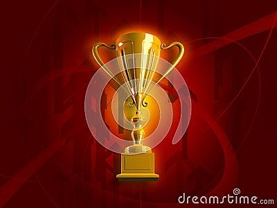Winning Gold Trophy