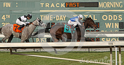 Winning Her First Race Editorial Photography