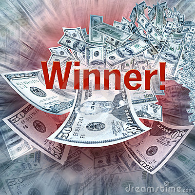 Free Winning Money Royalty Free Stock Images - 4541159