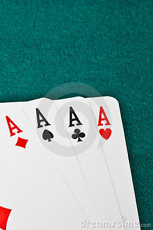 Free Winning Poker Hand Royalty Free Stock Photos - 22253928