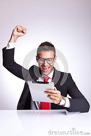 Winning reading the good news on the