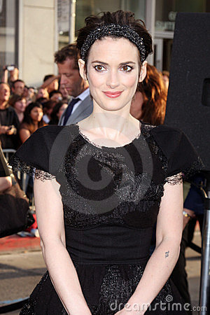 Winona Ryder Editorial Stock Photo