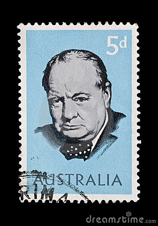 Winston Churchill Editorial Photo