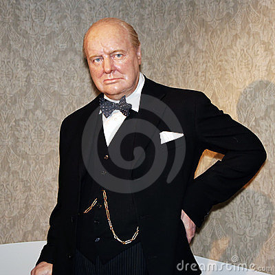 Winston Churchill Editorial Stock Photo