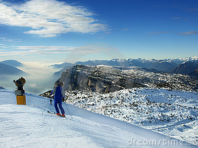 winter alpine